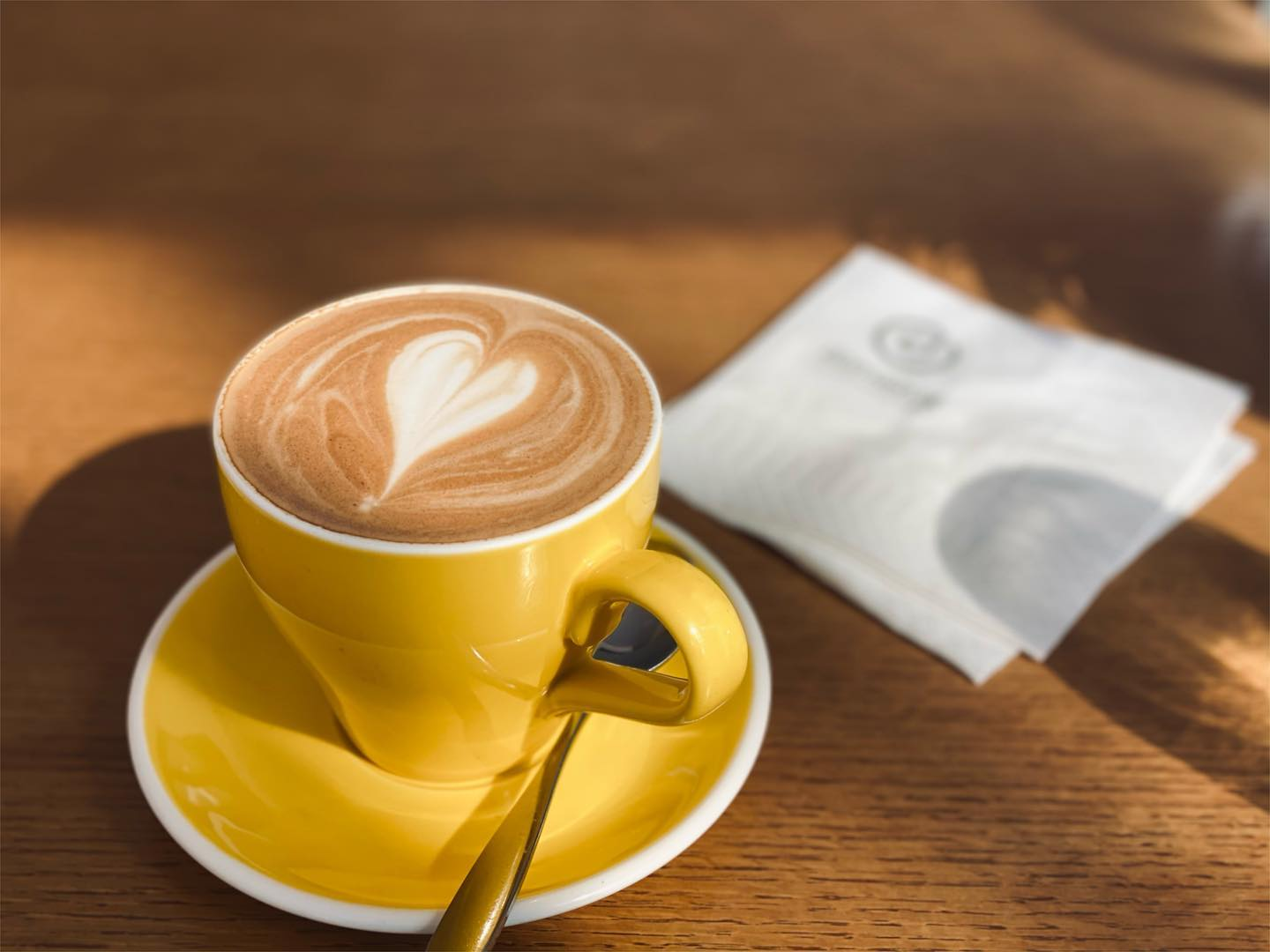Start your morning off with a steamy cup of coffee at Domain.
