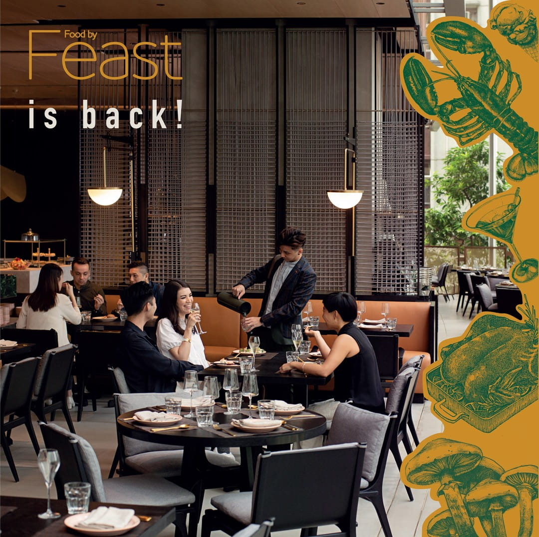 FEAST is back after 4 months of renovation!  It now offers a wide selection of gourmet goodness, ranging from antipasti, sushi, seafood, made to order main courses, homemade gelatos and desserts.  #atEAST #EatatEAST #FEAST #EASTHongKong