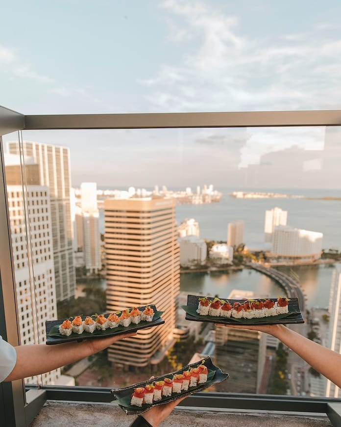 Celebrate summer with delicious asian-inspired cuisine and amazing rooftop views. All at #SugarMiami. Open daily at 4:00pm.  . . . #jetsetfam #atEAST #EASTMiami #travel #getaway #vacation #ilovetravel #jetsetter #miamifoodie #holiday #miamihotels #travelpics #passportready #miamilife #instavacation #wanderlust #luxury #letswander #brickellmiami #globetrotter #luxuryworldtraveler #beautifuldestinations #miamihotels #letsgosomewhere #brickelllife #miami #brickell #lifeofadventure #brickellliving