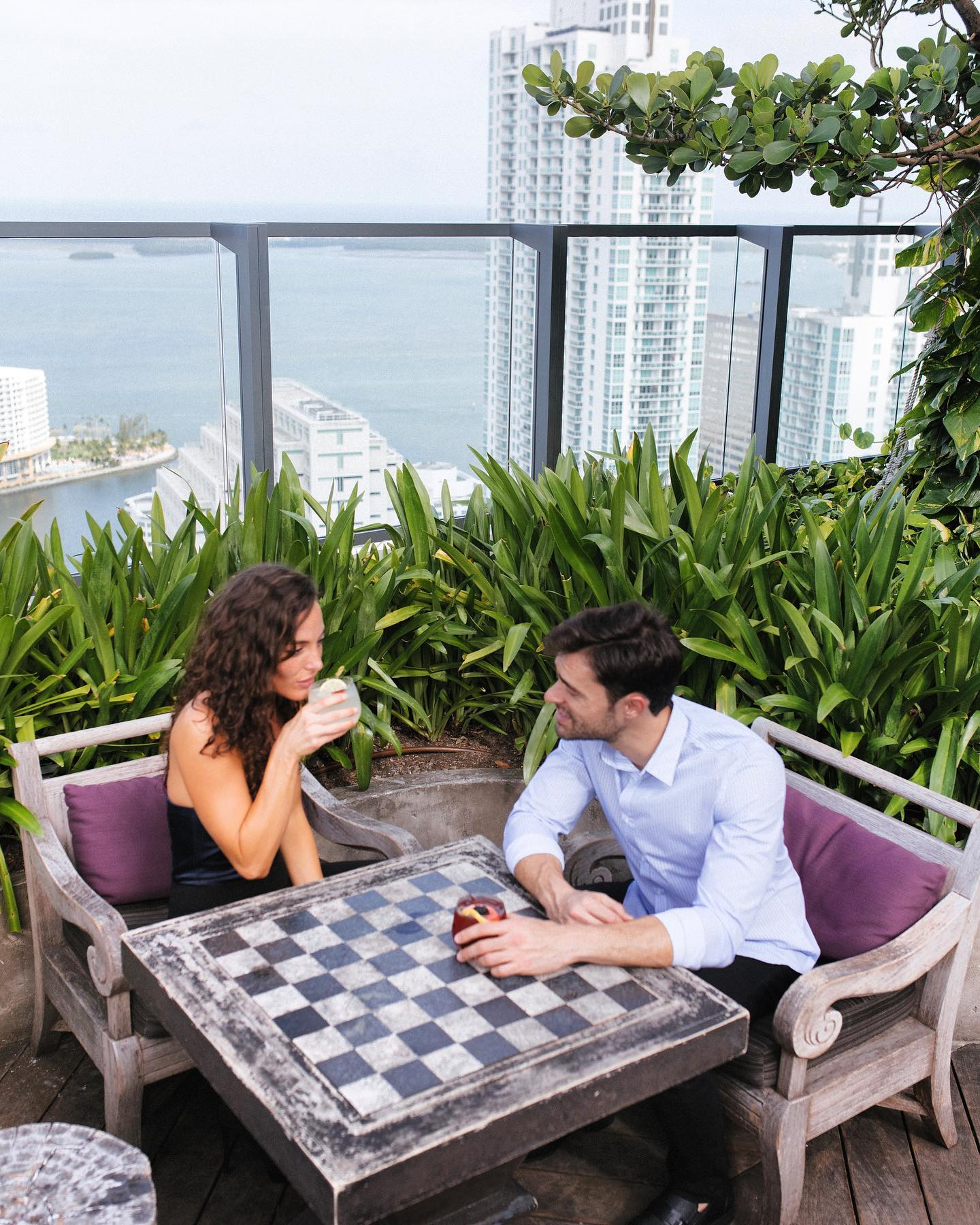 Unbeatable views, great cocktails and delicious bites. #SugarMiami. . . . #EASTMiami #EASThotels #BrickellMiami #travel #getaway #vacation #ilovetravel #jetsetter #holiday #miamihotels #travelpics #passportready #miamilife #luxurytravel #letswander #globetrotter #travelgram #luxuryworldtraveler #beautifuldestinations #letsgosomewhere #brickelllife #Miami #brickell #brickellliving #SwireHotels