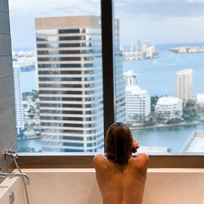 Give yourself some me time and enjoy the phenomenal city views over Miami #atEast. 